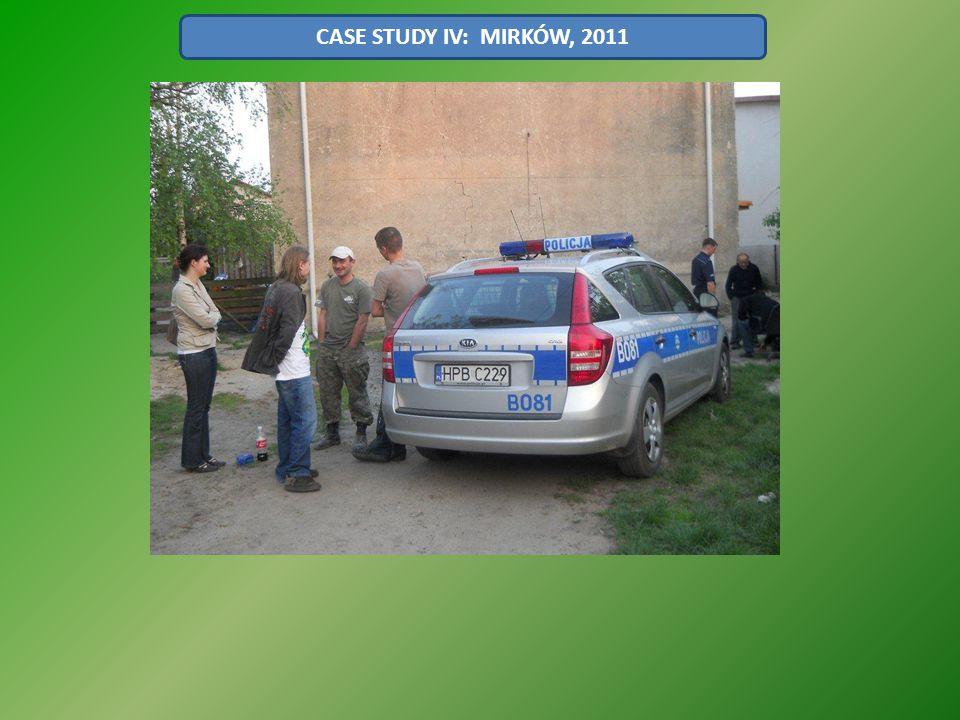 CASE STUDY IV: MIRKÓW, 2011