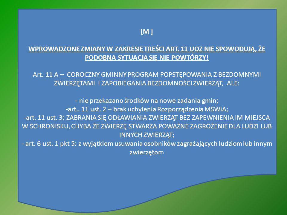 - nie przekazano środków na nowe zadania gmin;