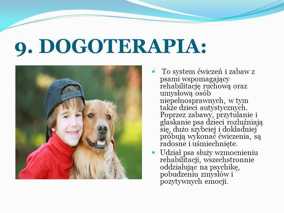 9. DOGOTERAPIA: