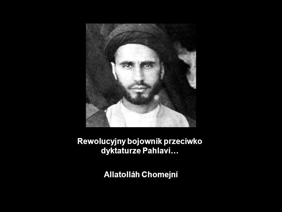 Rewolucyjny bojownik przeciwko dyktaturze Pahlavi…