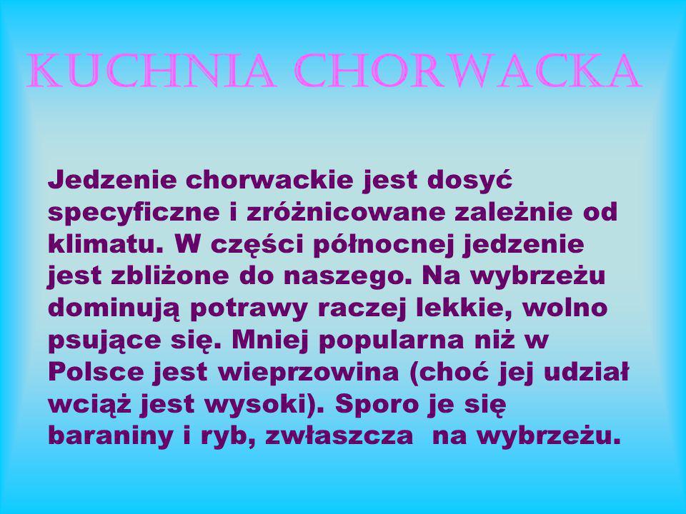 KUCHNIA CHORWACKA