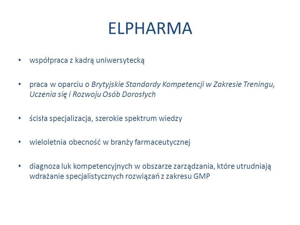 ELPHARMA współpraca z kadrą uniwersytecką