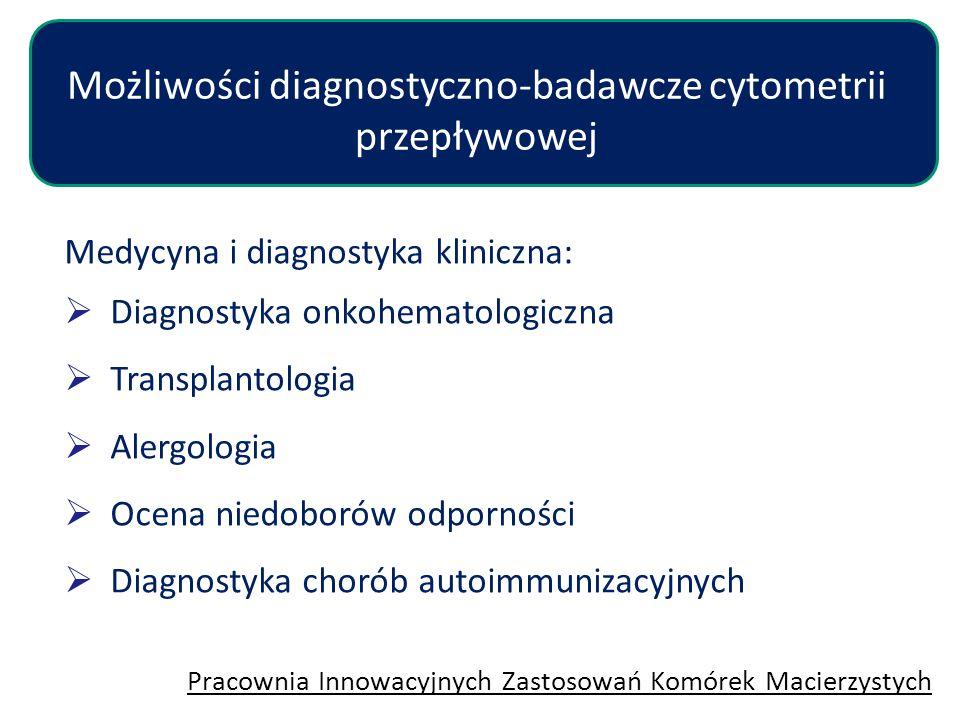 Możliwości diagnostyczno-badawcze cytometrii przepływowej