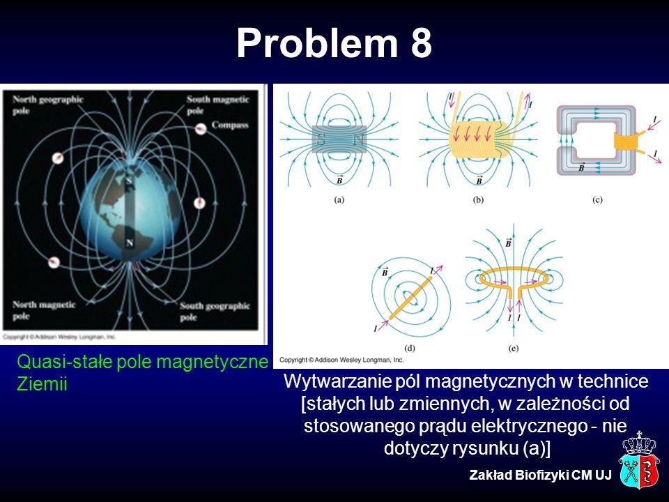 Problem 8 Quasi-stałe pole magnetyczne Ziemii