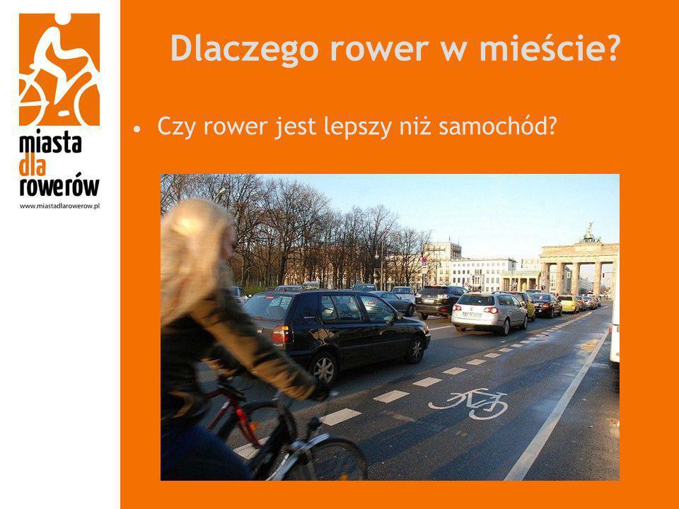 Dlaczego rower w mieście
