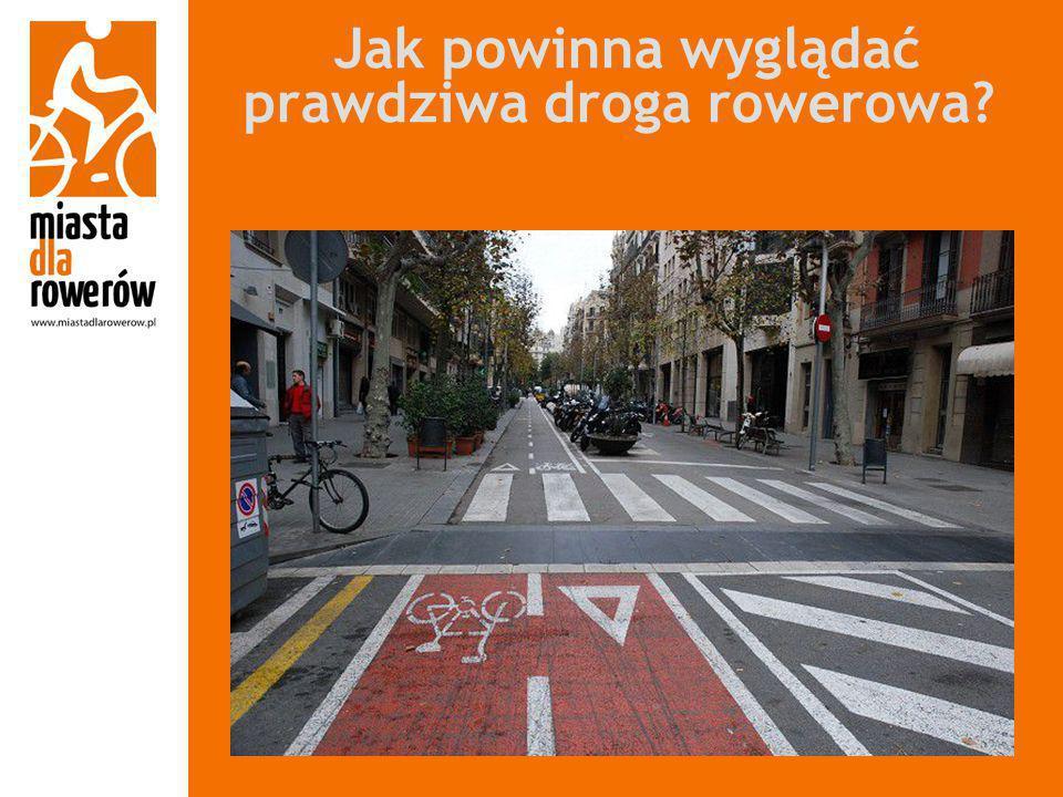 Jak powinna wyglądać prawdziwa droga rowerowa