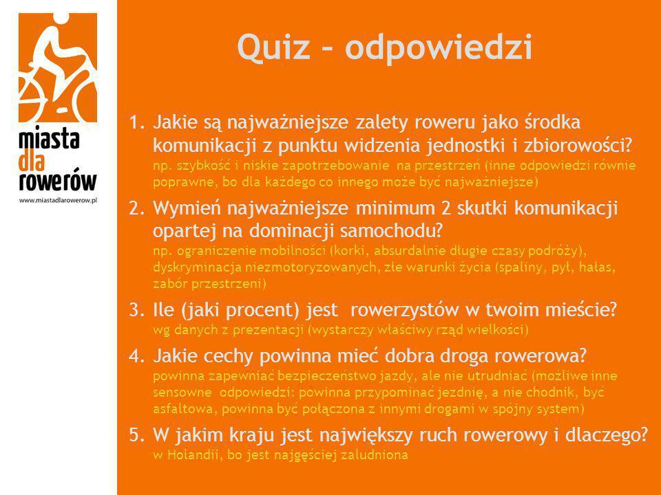 Quiz – odpowiedzi