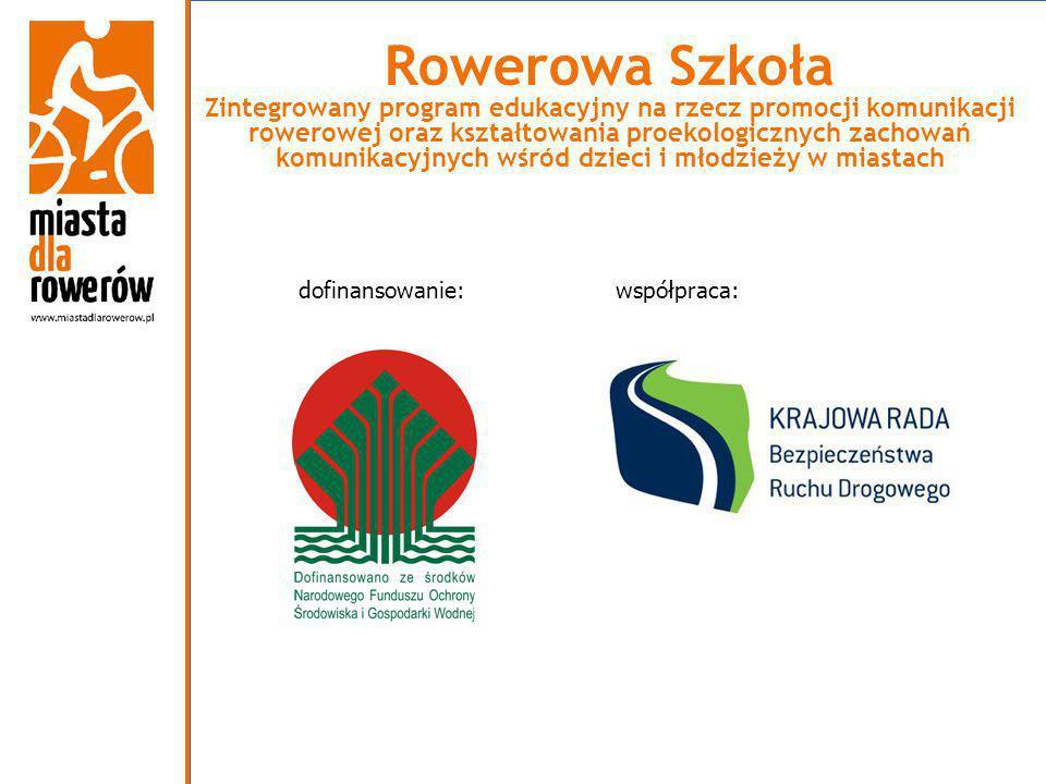 Rowerowa Szkoła Zintegrowany program edukacyjny na rzecz promocji komunikacji rowerowej oraz kształtowania proekologicznych zachowań komunikacyjnych wśród dzieci i młodzieży w miastach