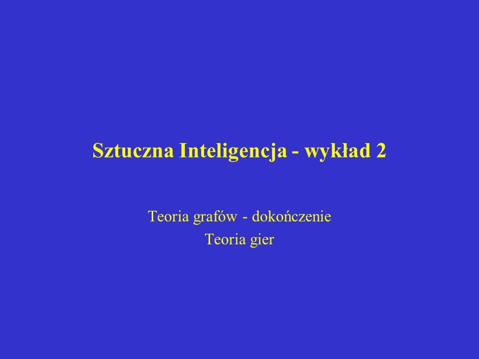 Sztuczna Inteligencja - wykład 2