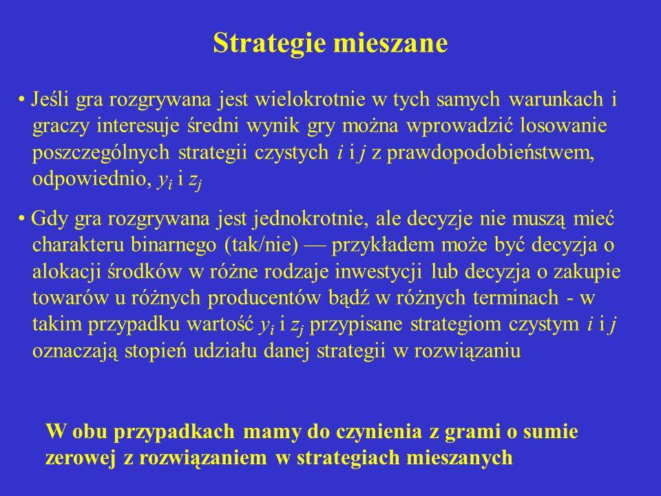 Strategie mieszane
