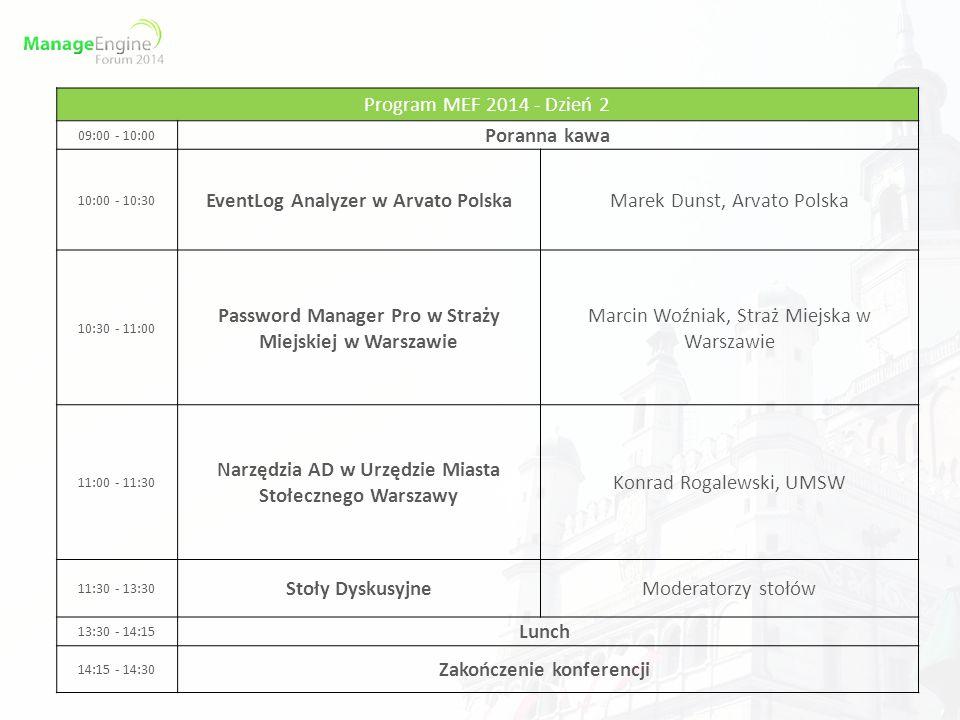 EventLog Analyzer w Arvato Polska Marek Dunst, Arvato Polska