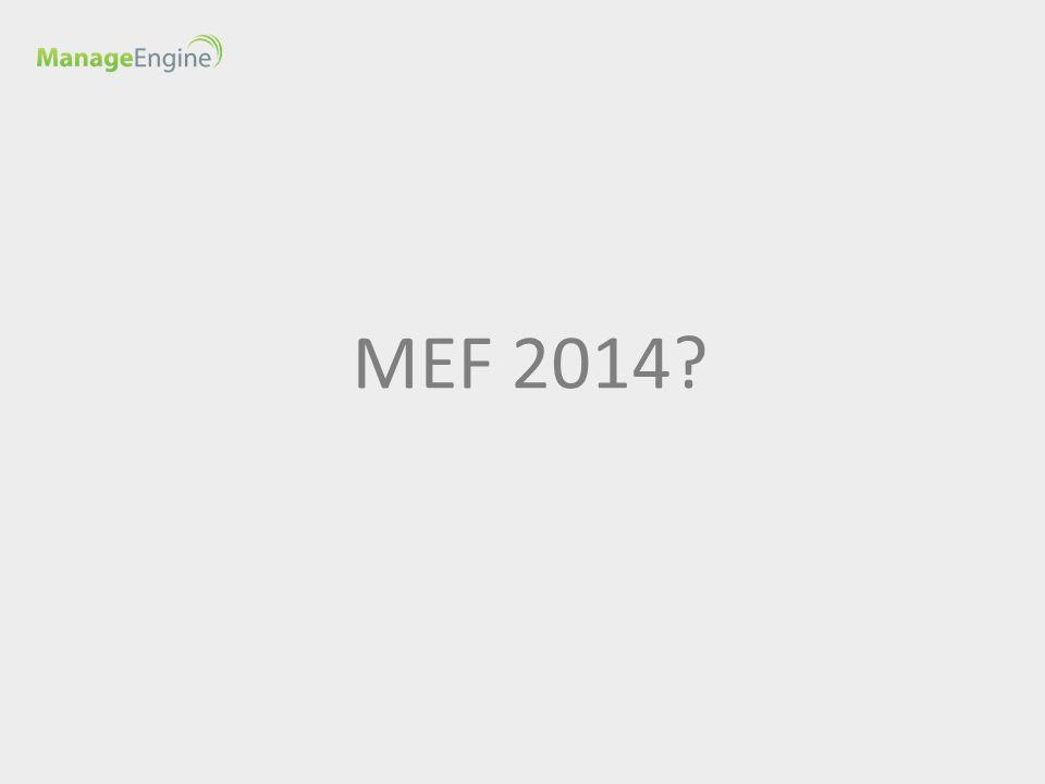 MEF 2014 MD > Jaką formułę będzie miało MEF 2014