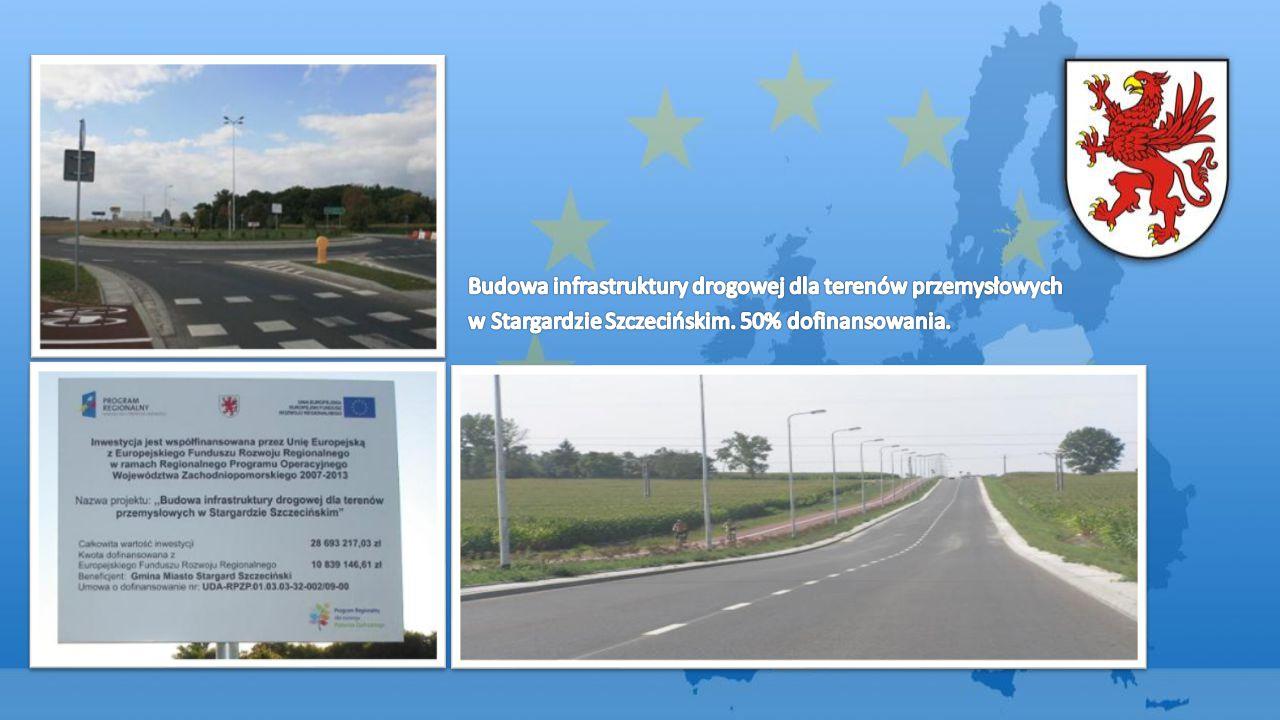 Budowa infrastruktury drogowej dla terenów przemysłowych