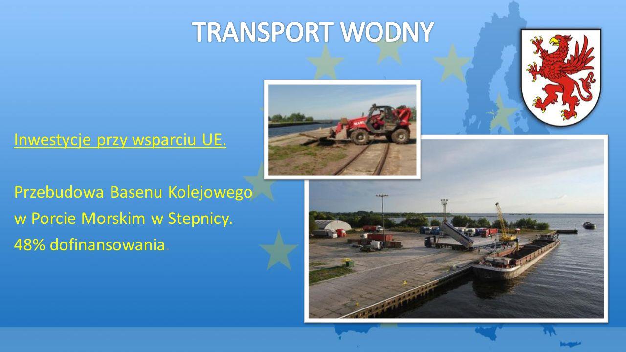 TRANSPORT WODNY Inwestycje przy wsparciu UE.