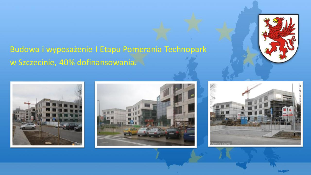 Budowa i wyposażenie I Etapu Pomerania Technopark