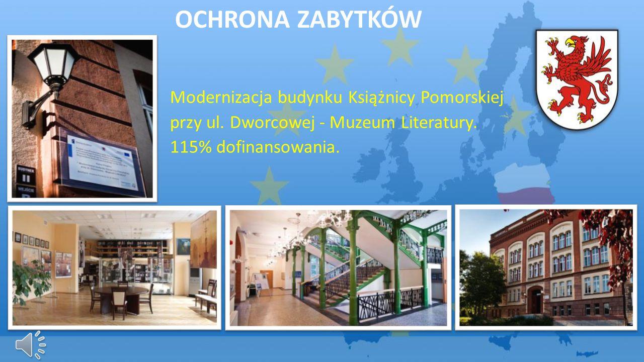 Ochrona zabytków Modernizacja budynku Książnicy Pomorskiej
