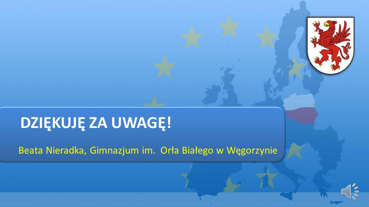 Beata Nieradka, Gimnazjum im. Orła Białego w Węgorzynie