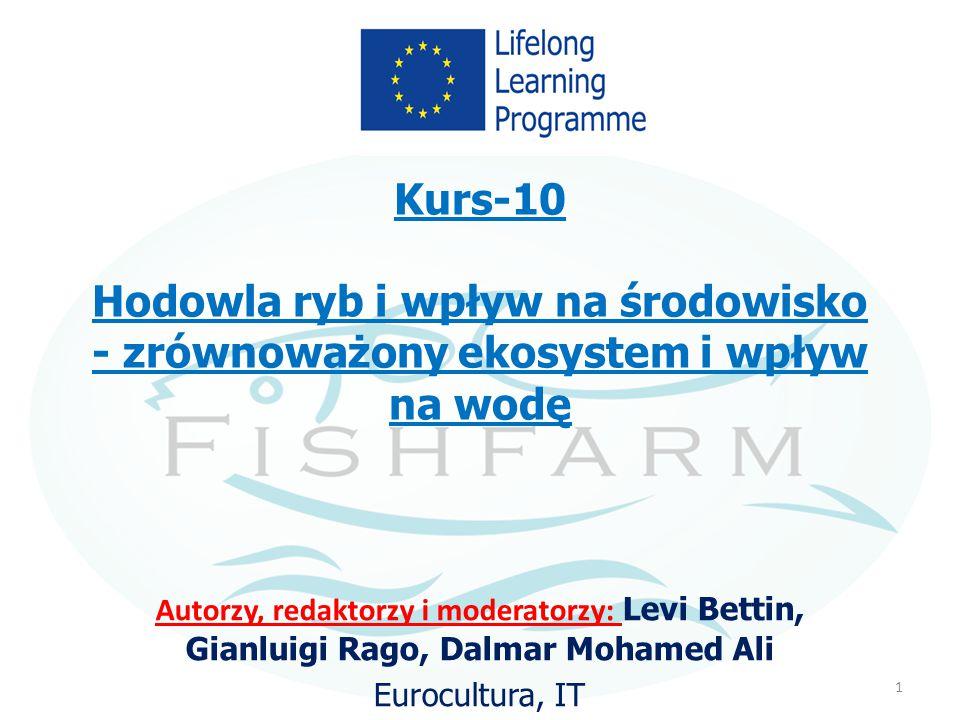 Kurs-10 Hodowla ryb i wpływ na środowisko - zrównoważony ekosystem i wpływ na wodę