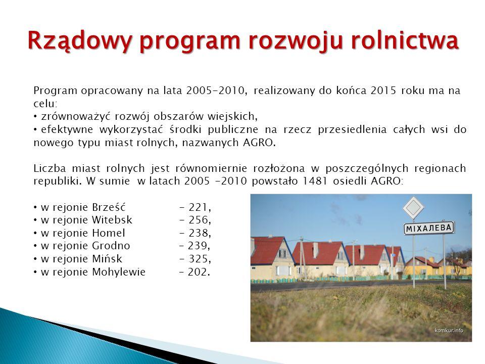 Rządowy program rozwoju rolnictwa