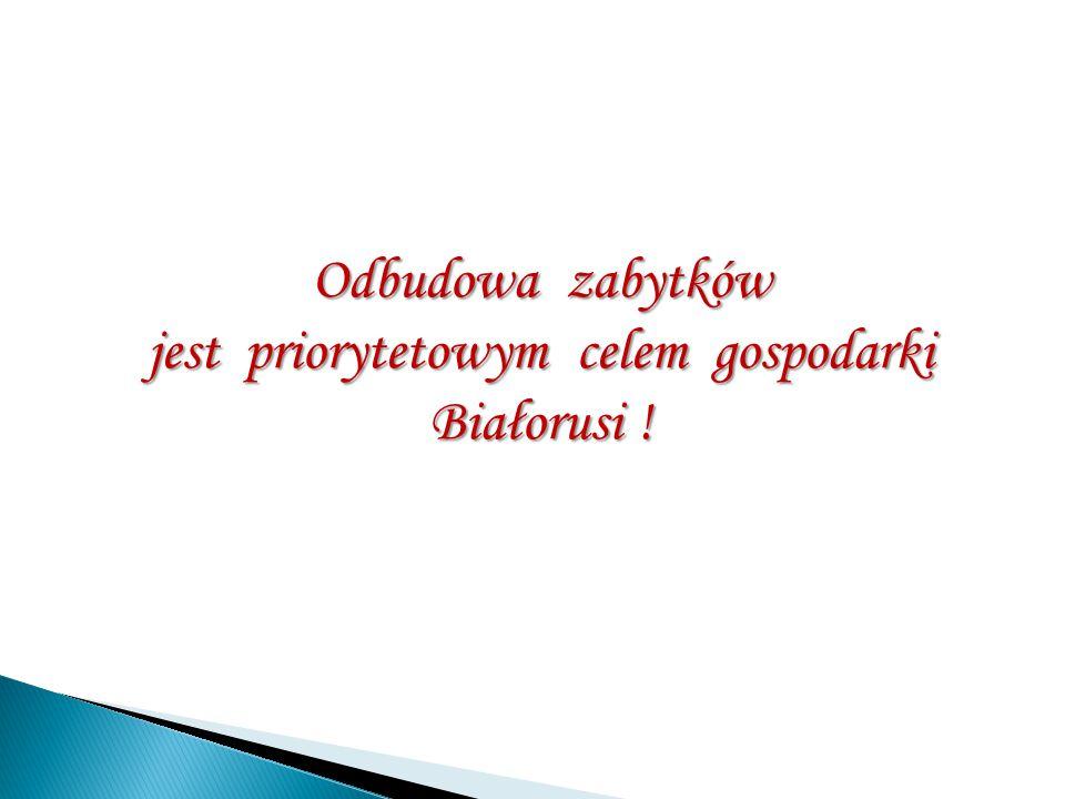 jest priorytetowym celem gospodarki Białorusi !