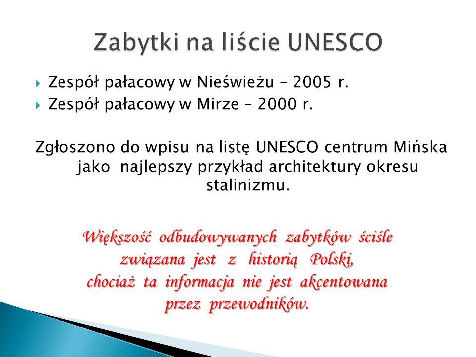 Zabytki na liście UNESCO