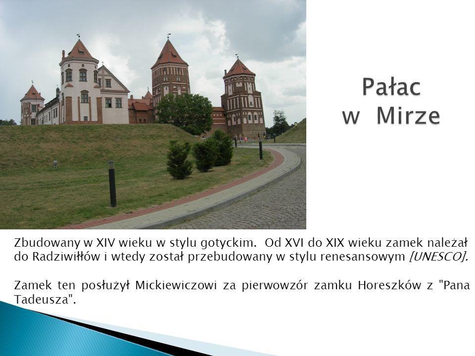Pałac w Mirze