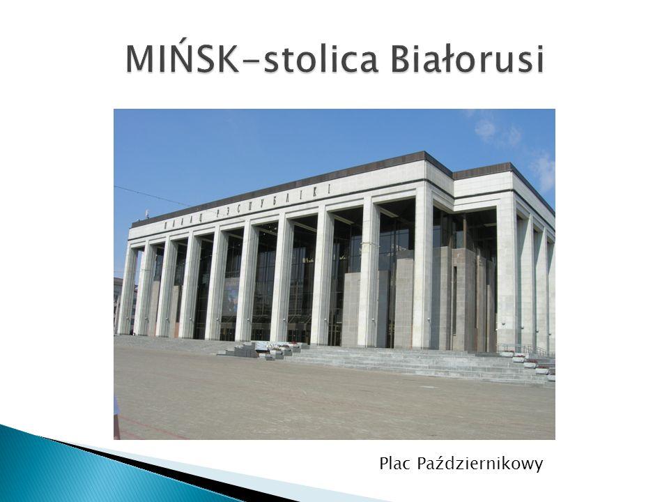 MIŃSK-stolica Białorusi