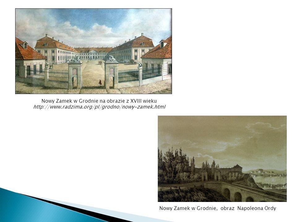 Nowy Zamek w Grodnie, obraz Napoleona Ordy