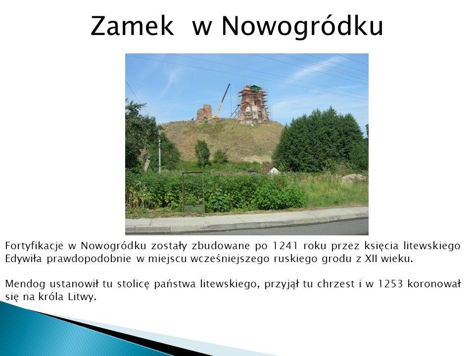 Zamek w Nowogródku