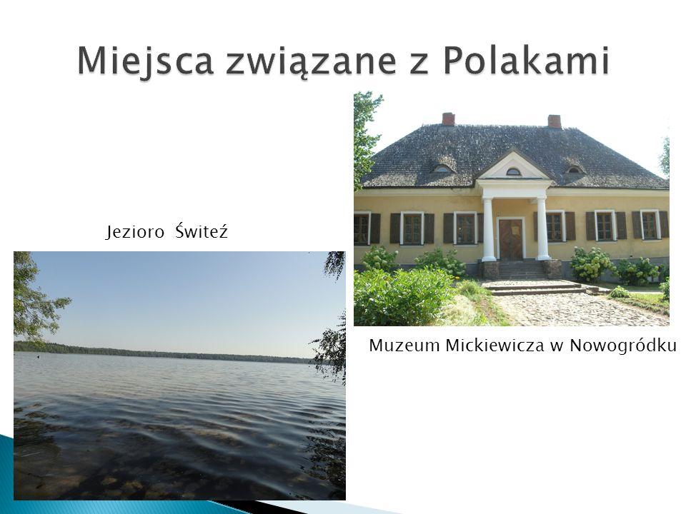 Miejsca związane z Polakami