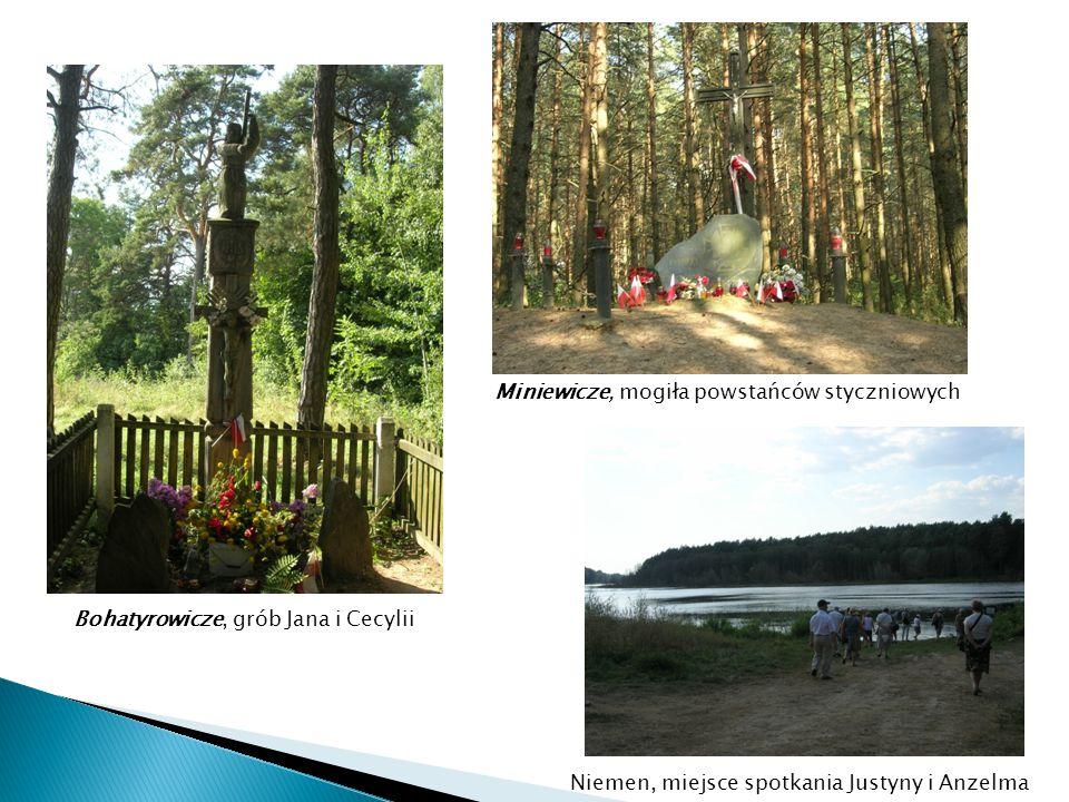 Bohatyrowicze, grób Jana i Cecylii