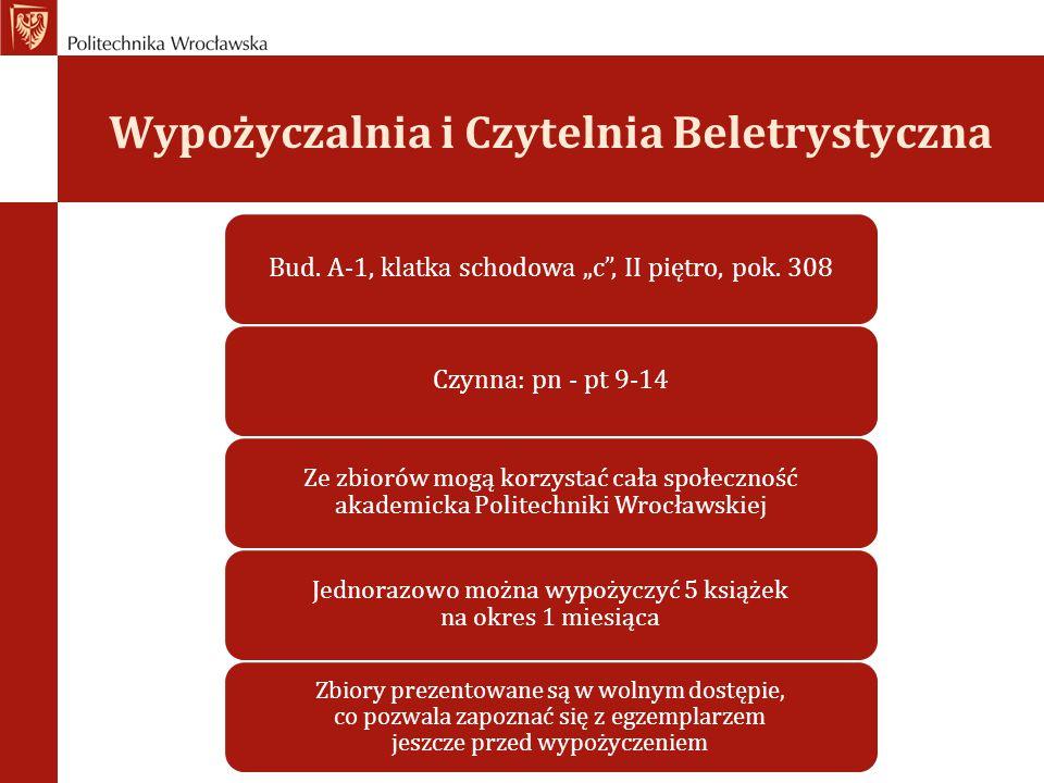 Wypożyczalnia i Czytelnia Beletrystyczna