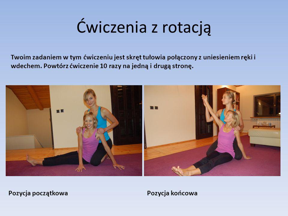 Ćwiczenia z rotacją