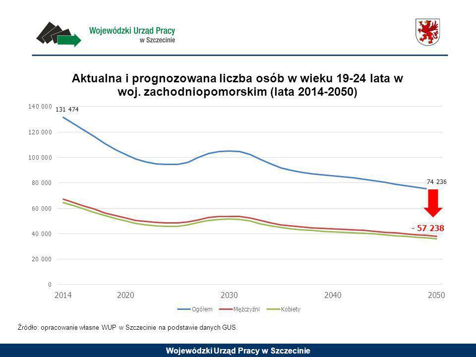 Źródło: opracowanie własne WUP w Szczecinie na podstawie danych GUS.