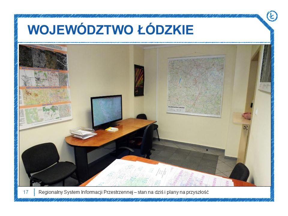 WOJEWÓDZTWO ŁÓDZKIE Pokój udostępniania wojewódzkiego zasobu geodezyjnego i kartograficznego.