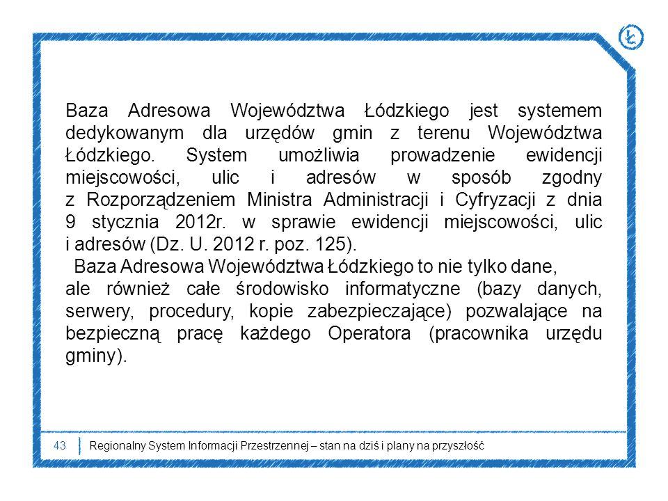Baza Adresowa Województwa Łódzkiego to nie tylko dane,