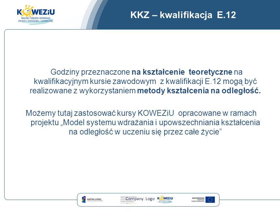 KKZ – kwalifikacja E.12