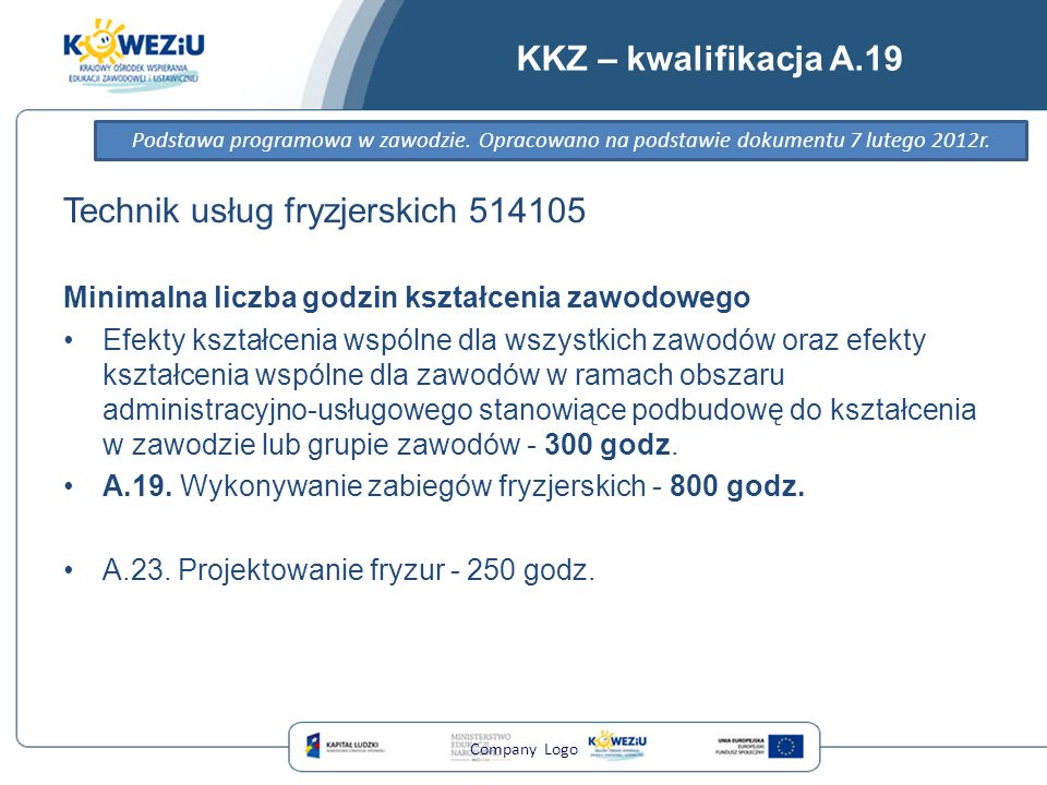 Technik usług fryzjerskich 514105