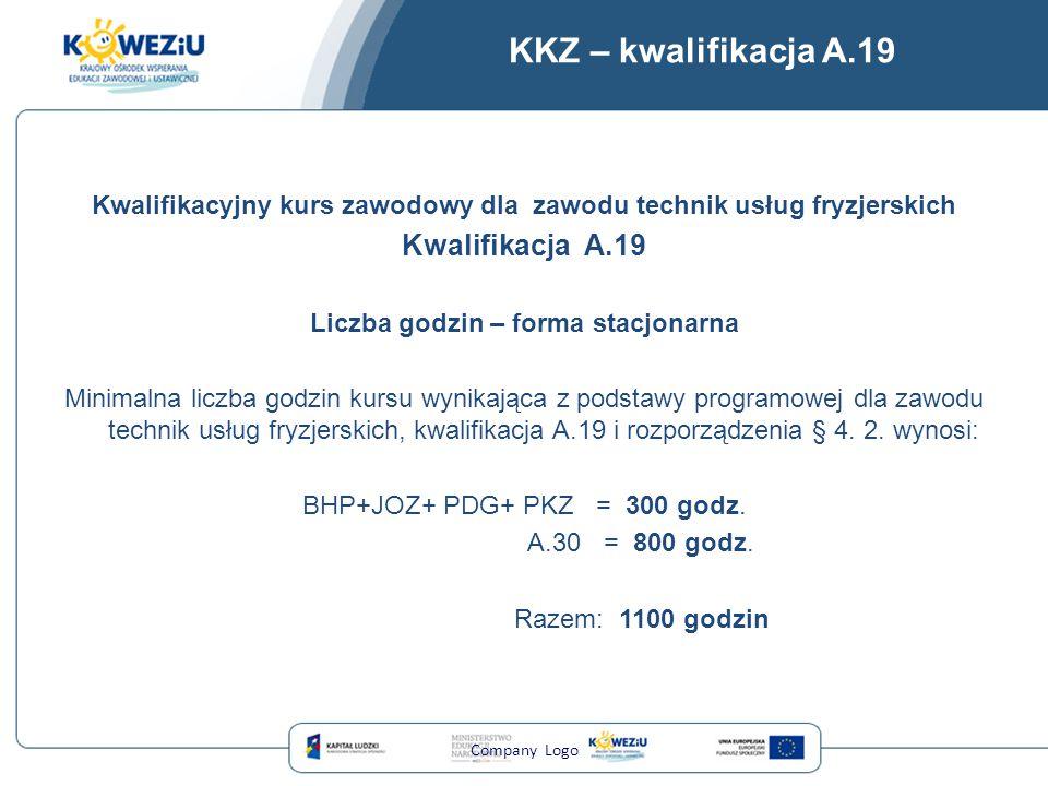 KKZ – kwalifikacja A.19 Kwalifikacja A.19