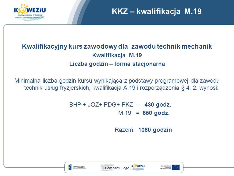 KKZ – kwalifikacja M.19 Kwalifikacyjny kurs zawodowy dla zawodu technik mechanik. Kwalifikacja M.19.