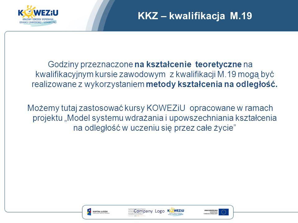 KKZ – kwalifikacja M.19