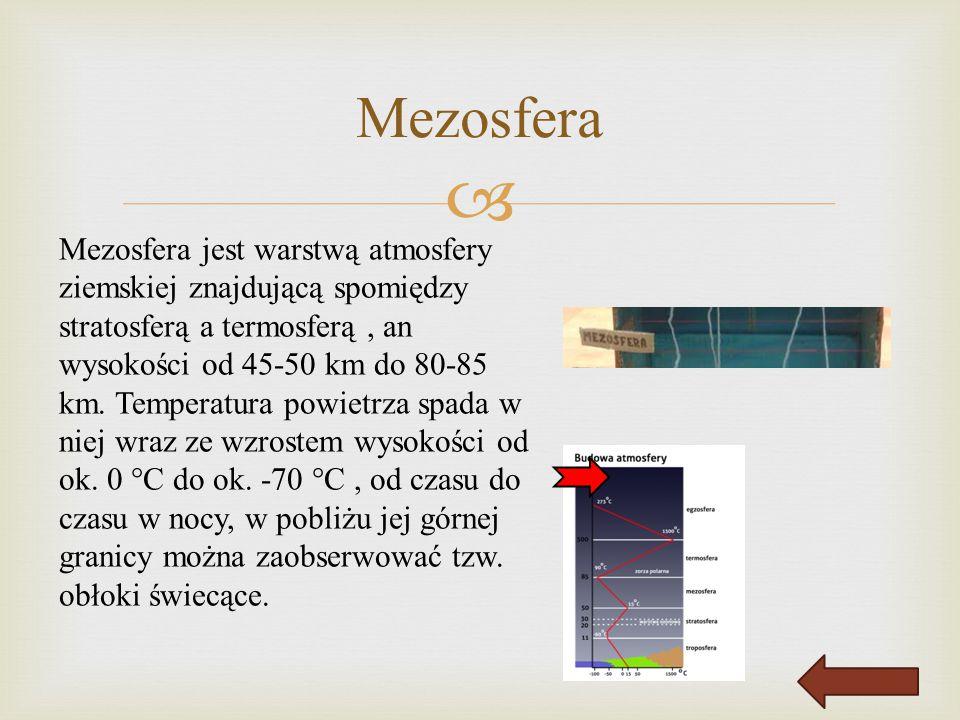 Mezosfera