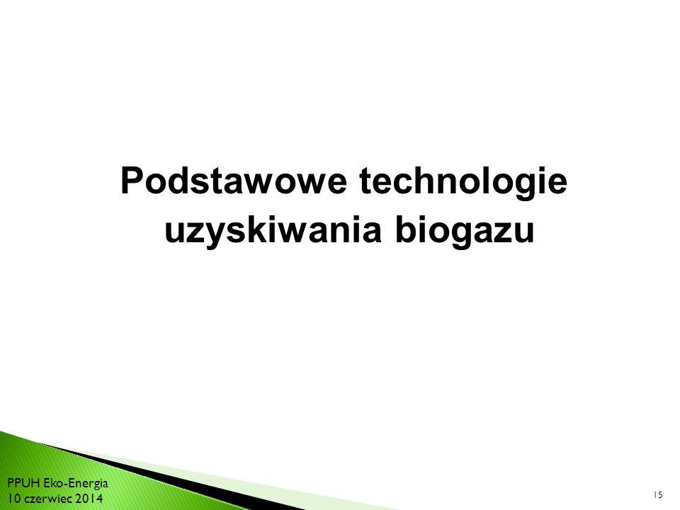 Podstawowe technologie