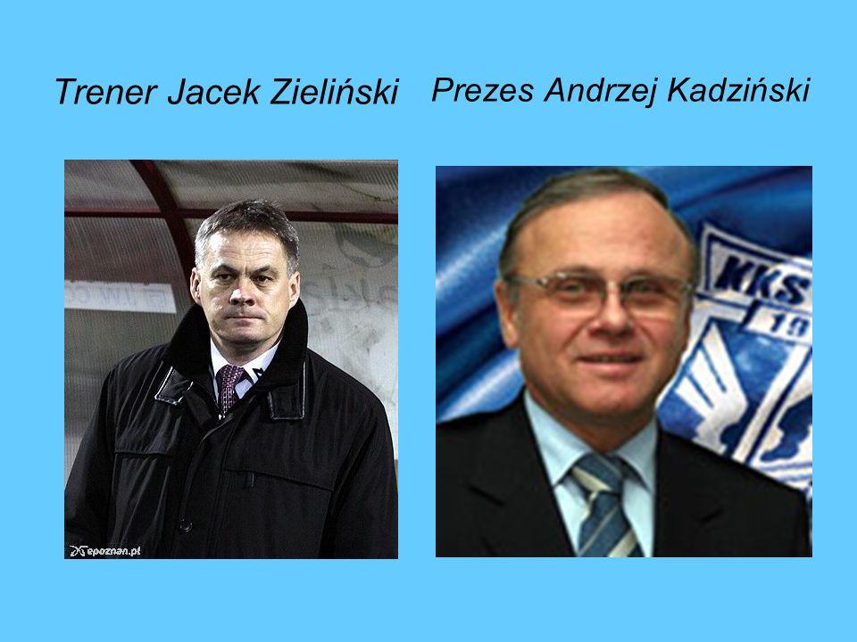 Trener Jacek Zieliński