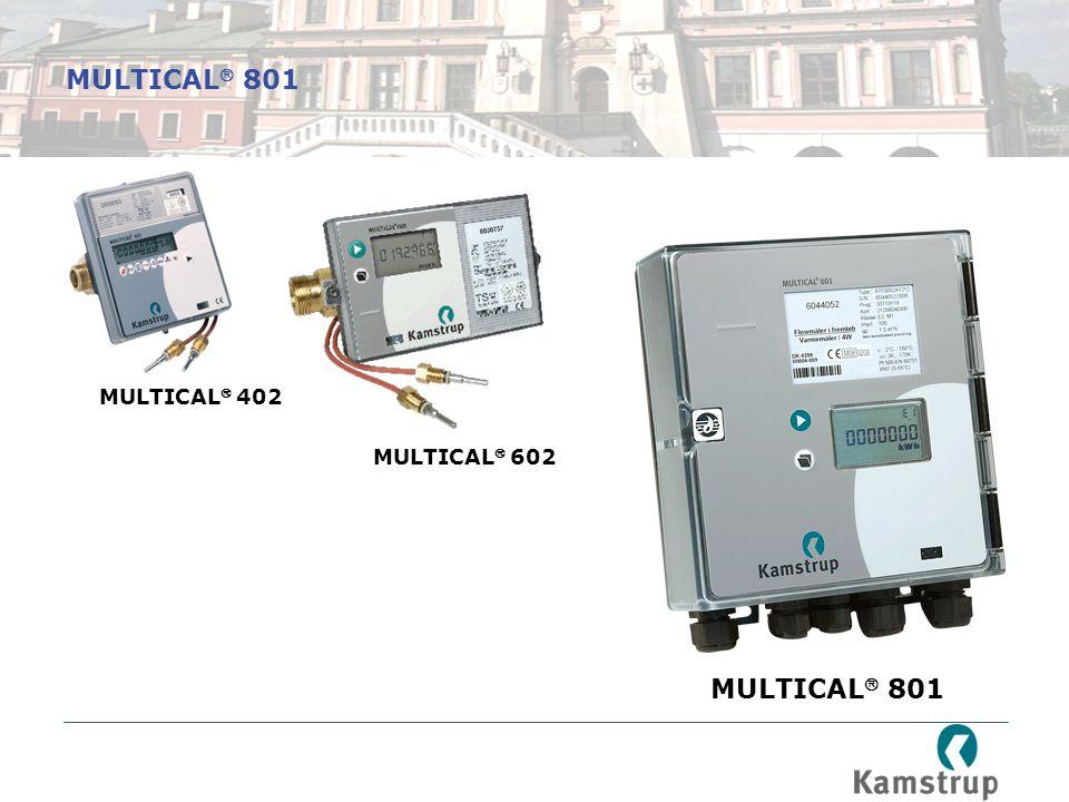 MULTICAL 801 MULTICAL 402 MULTICAL 602 MULTICAL 801