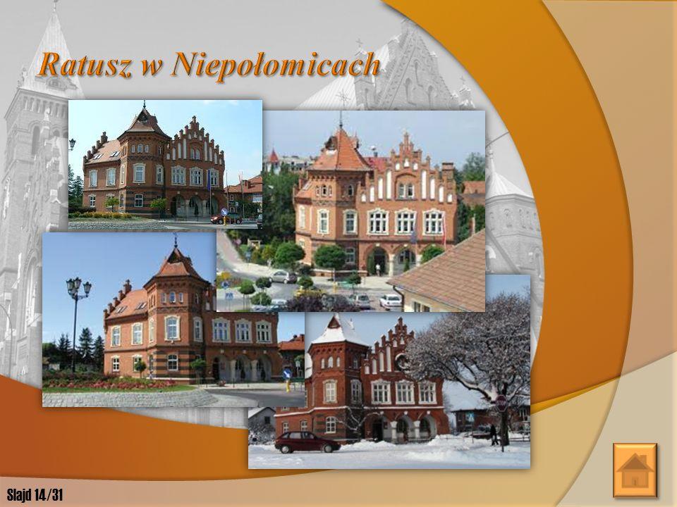 Ratusz w Niepołomicach