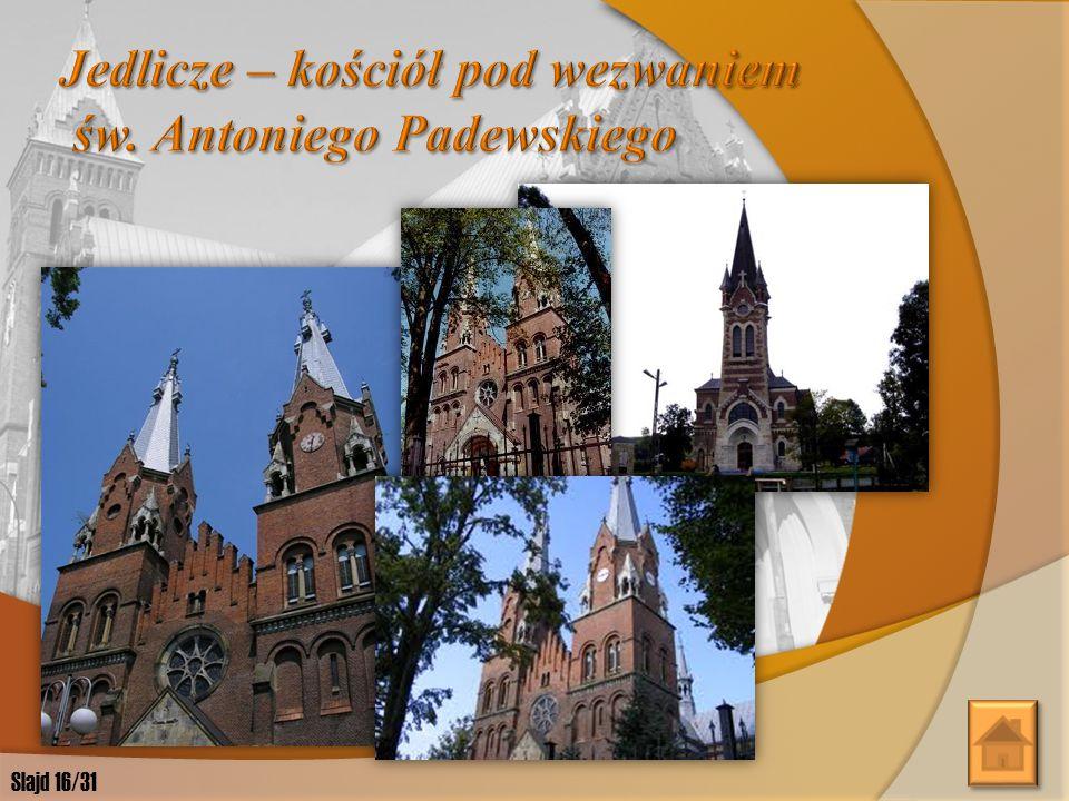 Jedlicze – kościół pod wezwaniem św. Antoniego Padewskiego