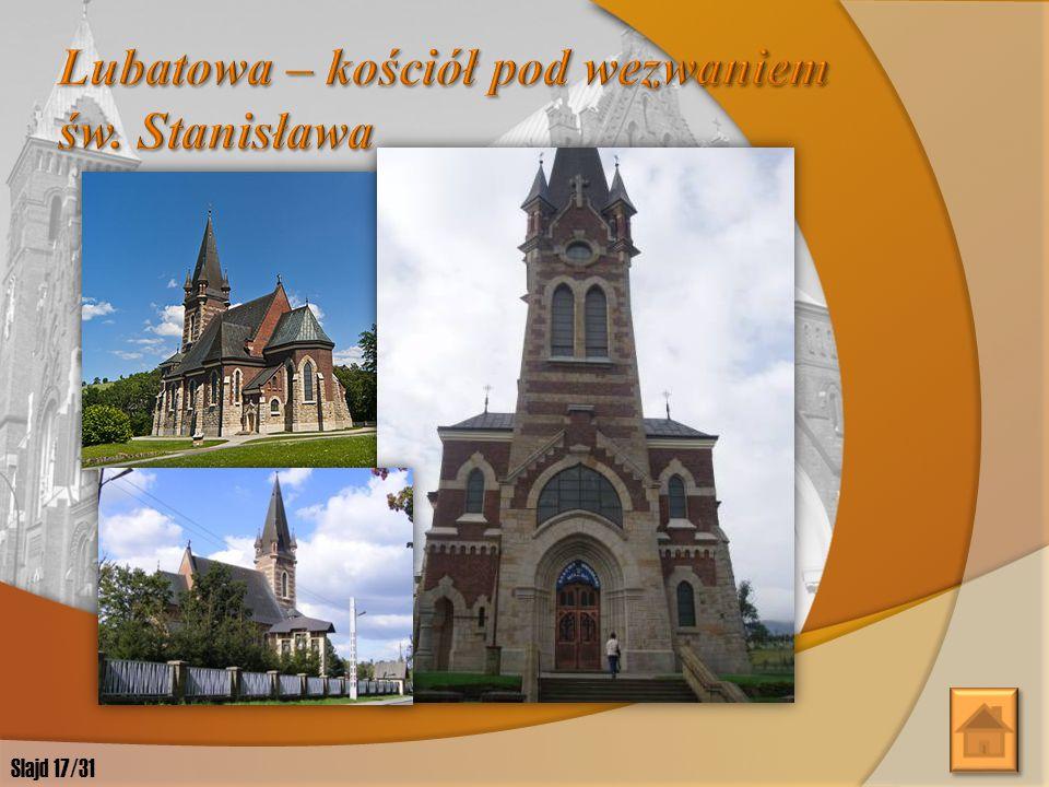 Lubatowa – kościół pod wezwaniem św. Stanisława