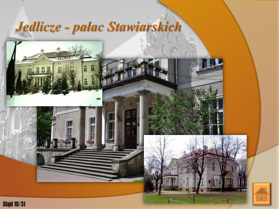 Jedlicze - pałac Stawiarskich