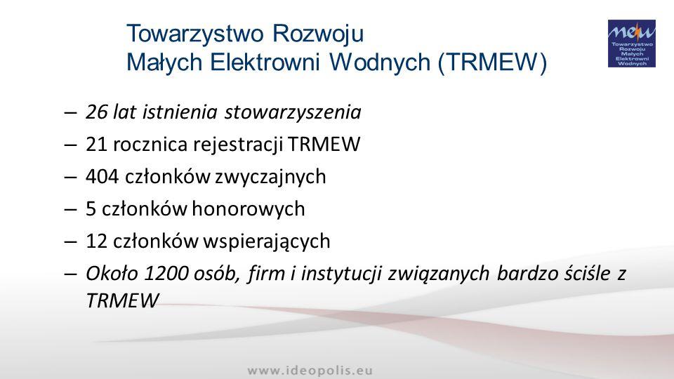 Małych Elektrowni Wodnych (TRMEW)
